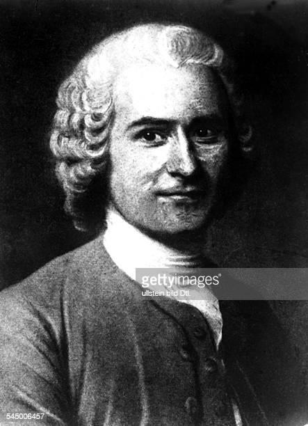 1712 1778Philosoph und Schriftsteller F Gemälde
