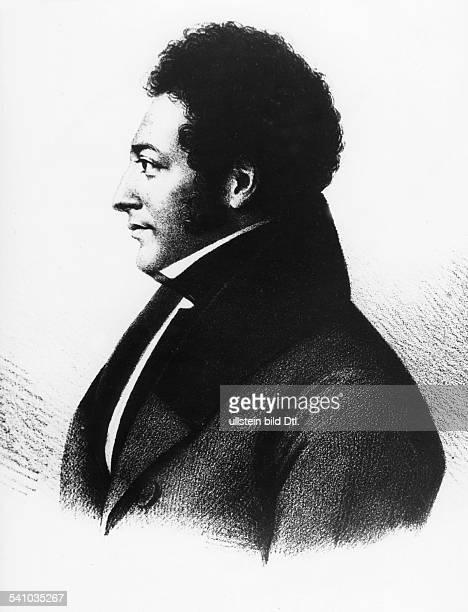 *1798_od17991839 Jurist Rechtsphilosoph Mitbegründer der vergleichenden Rechtswissenschaft Porträt