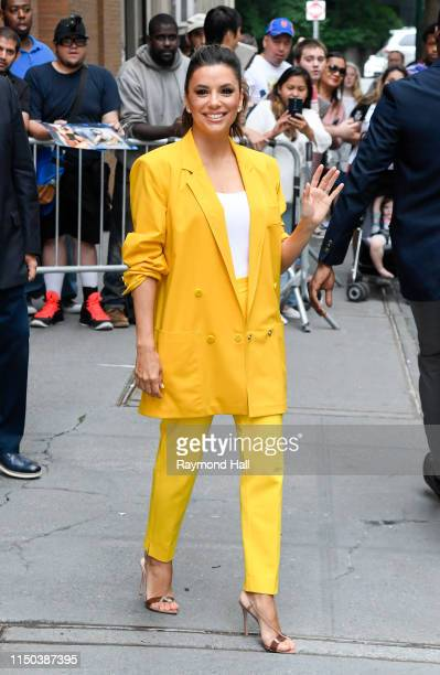 Actress Eva Longoria are seen outside View on June 17 2019 in New York City