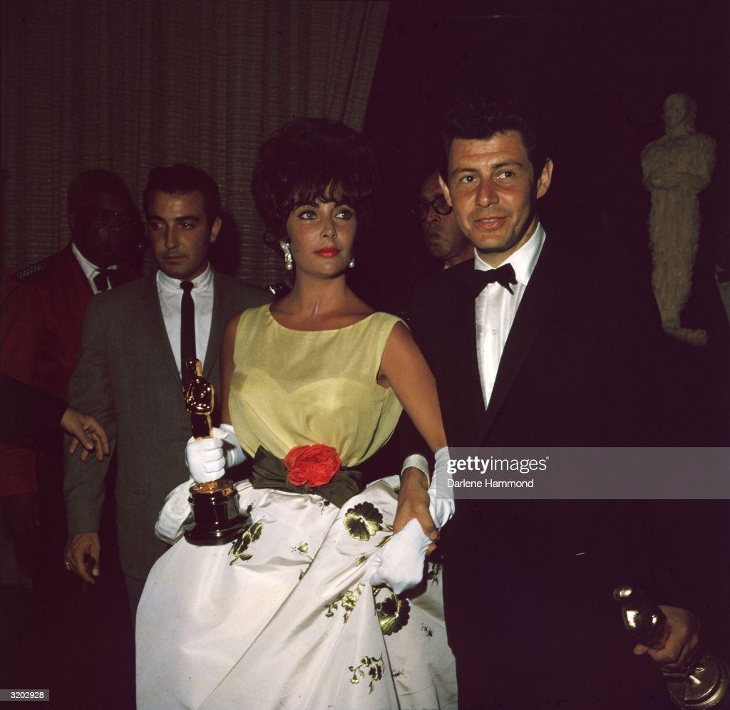 Eddie And Elizabeth : News Photo