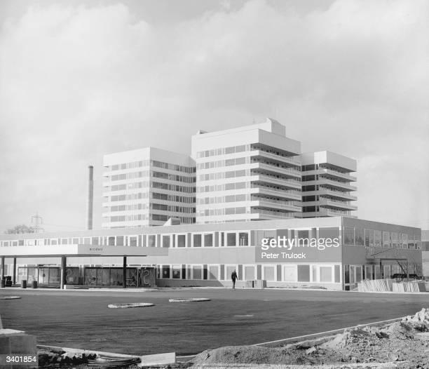 The Lister hospital at Stevenage New Town Hertfordshire