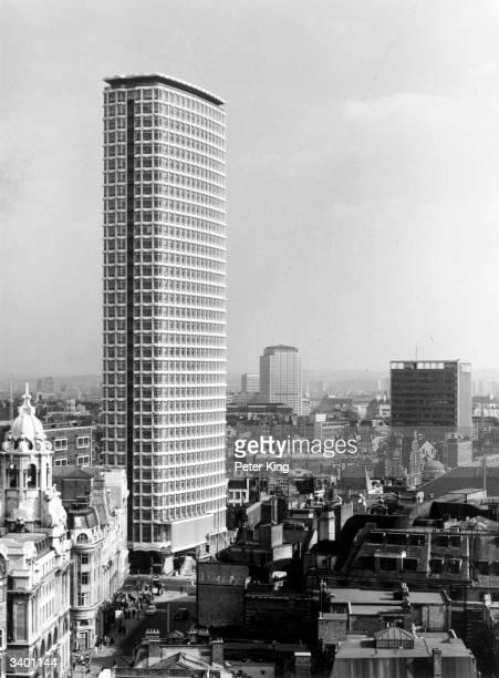The Centre Point building near Tottenham Court Road London