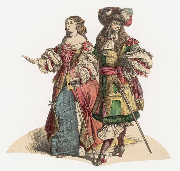 17th Century Fashion Wall Art