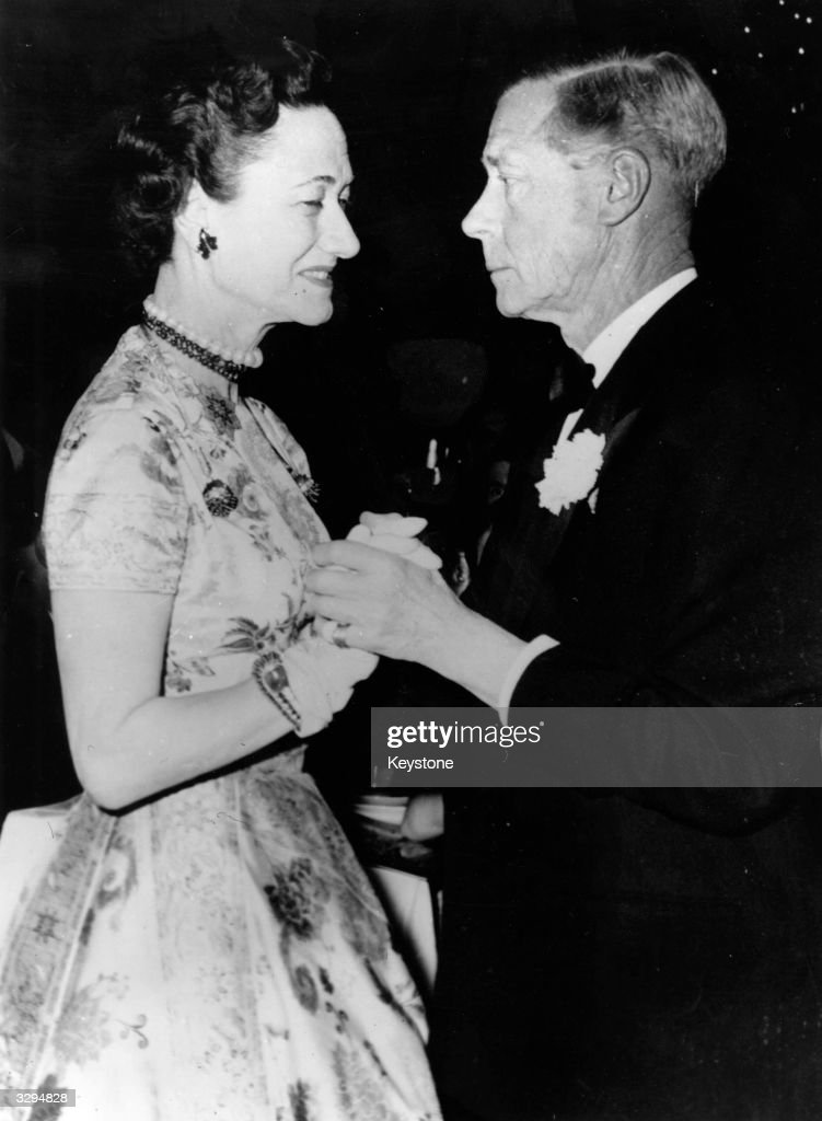 The Duke and Duchess of Windsor dancing the cha-cha- cha at the Lido on the Champs-Elysees, Paris.