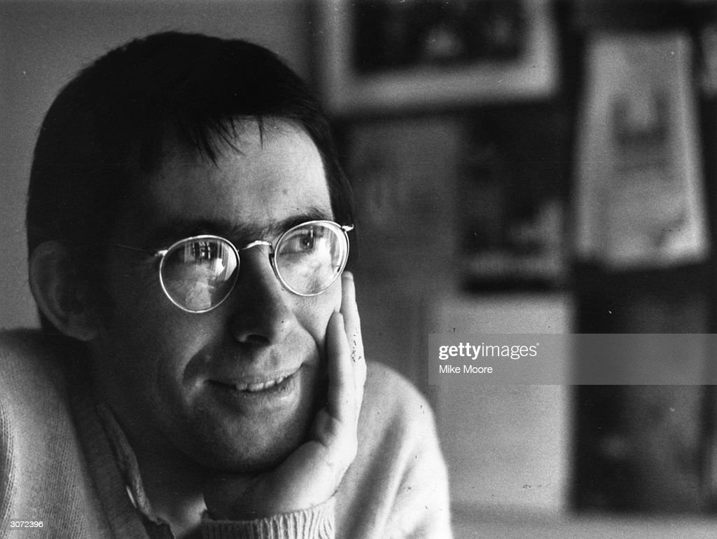 British novelist, short-story writer, screenwriter and author of 'The Cement Garden' Ian McEwan at home in south London.