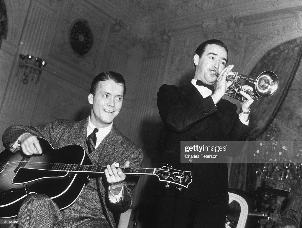 Eddie And Bobby : News Photo