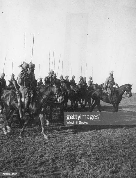 17th Indian Cavalry on parade Kajiado 1915