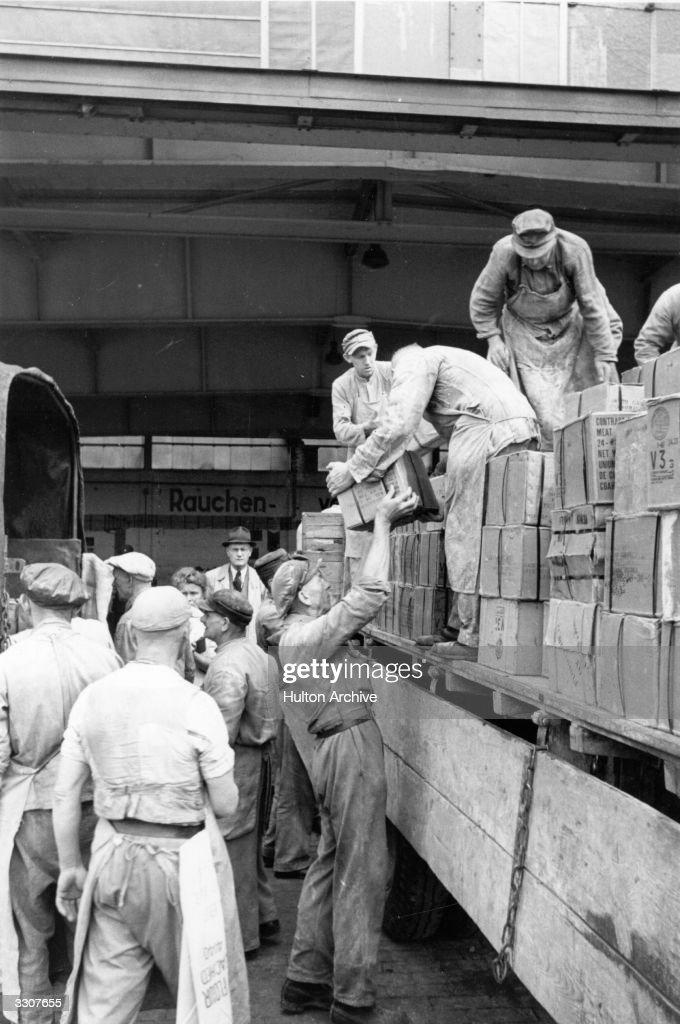 Berlin Blockade : News Photo