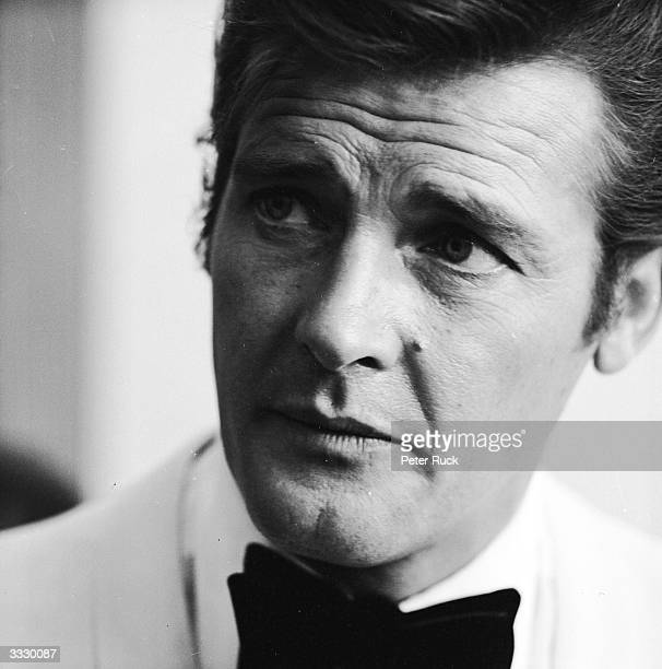British actor Roger Moore recently voted as West Germany's most popular TV personality for his role as Simon Templar in 'The Saint'