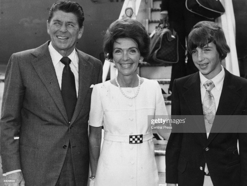 Reagan Family : News Photo