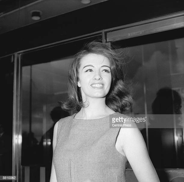 English former model and showgirl Christine Keeler with whom John Profumo the former war minister confessed to having an affair