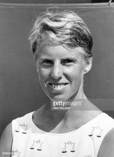 British tennis star Ann Jones who beat Billie Jean King to go on to face Virginia Wade in the Beckenham Singles finals