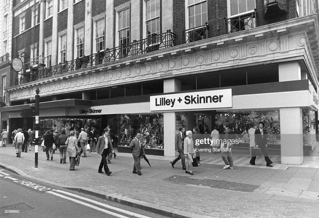 Lilley And Skinner : News Photo