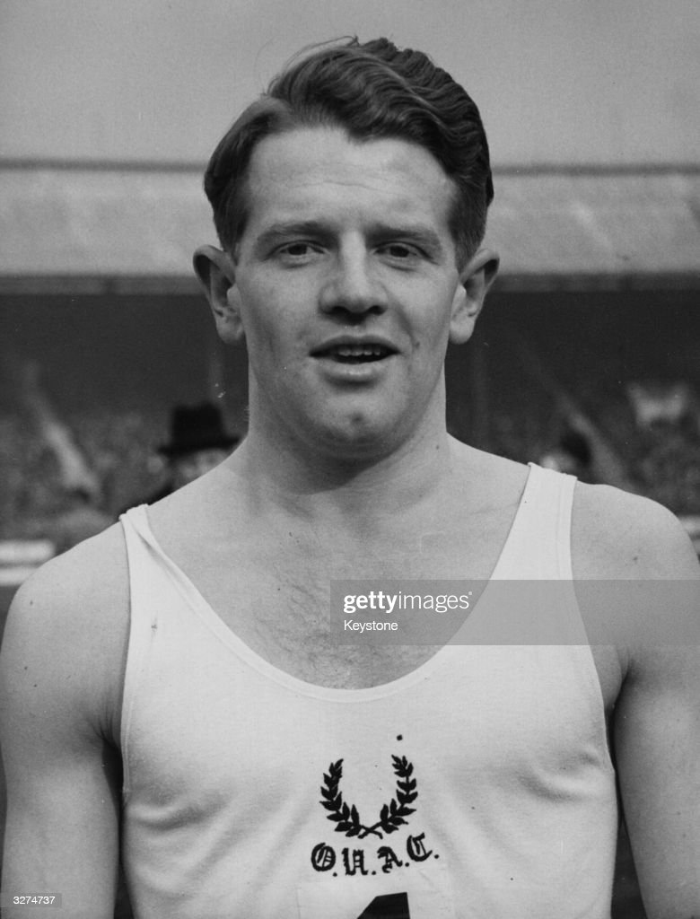 Chris Chataway ( 1931 - ) the English athlete and politician, considered as one of the country's brightest Olympic prospects.