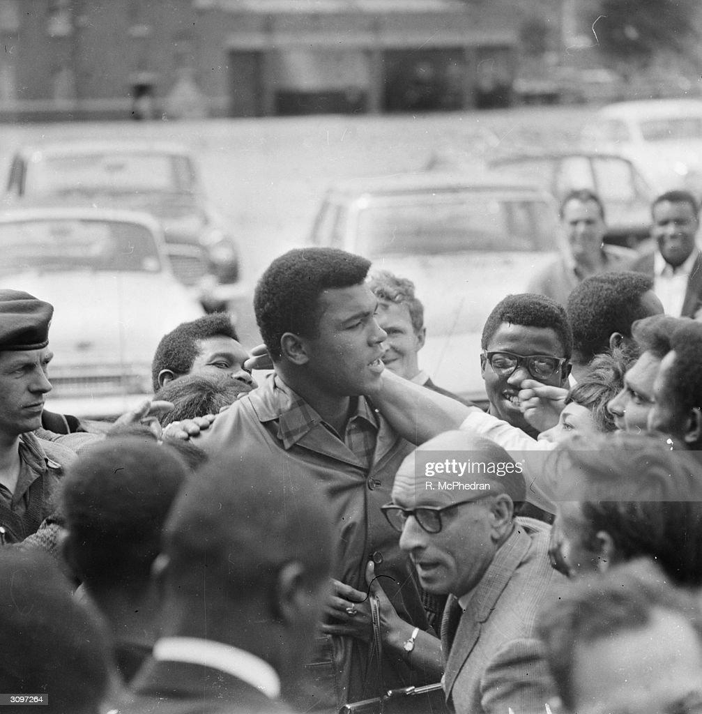 Ali In London : News Photo