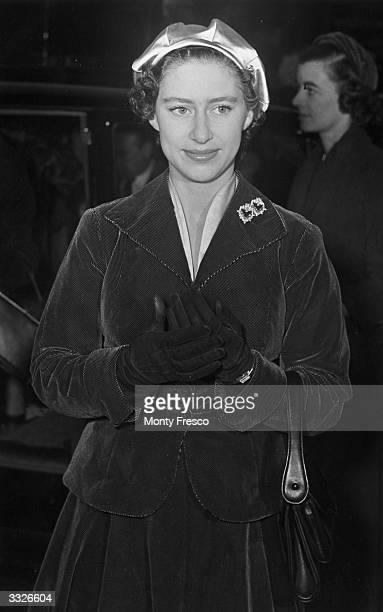 Princess Margaret at the Highland Home Exhibition in London.
