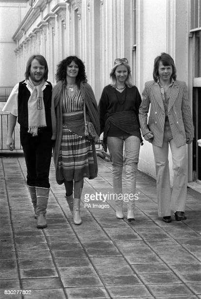 On this day in 1974 pop group ABBA begun their first tour of Europe The four members of Swedish pop group Abba From left to right Benny Anderson...