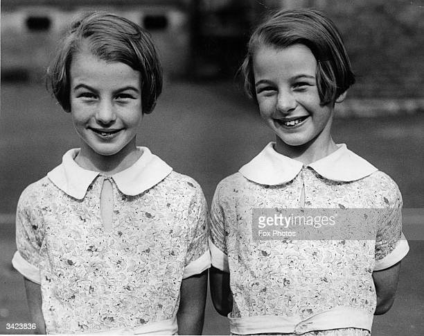 Nineyearold twin sisters Jessie and Christie Needham who attend a school in Edinburgh which has six pairs of twins
