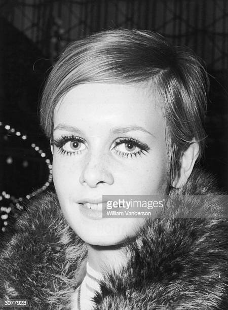 17yearold British fashion model Twiggy born Lesley Hornby in Neasden pictured on the 7th March 1967