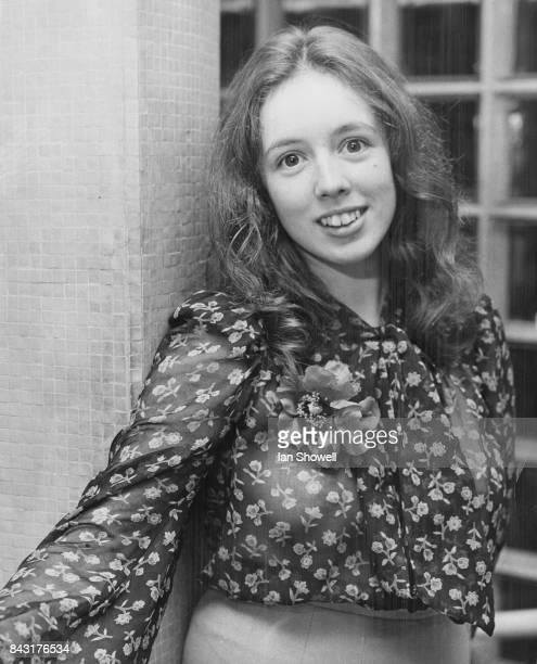 17yearold British singersongwriter Claire Hamill is thrown a reception in London 13th January 1972