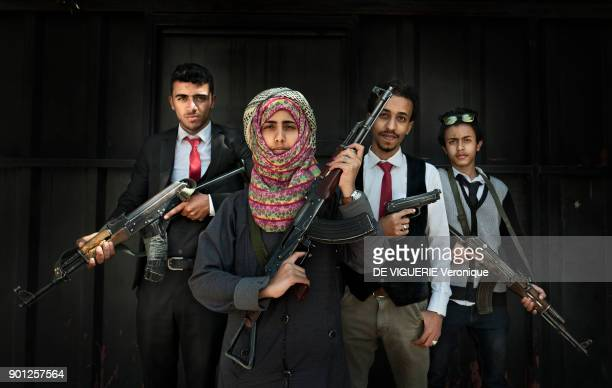 A 17yearold girl Amat Allah Hassan is prime minister of a socalled children's government in Yemen Its 33 ministers are working hand in hand with the...