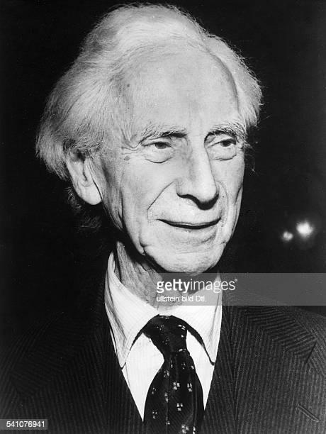 Mathematiker, Philosoph, GrossbritannienPorträt- 1958