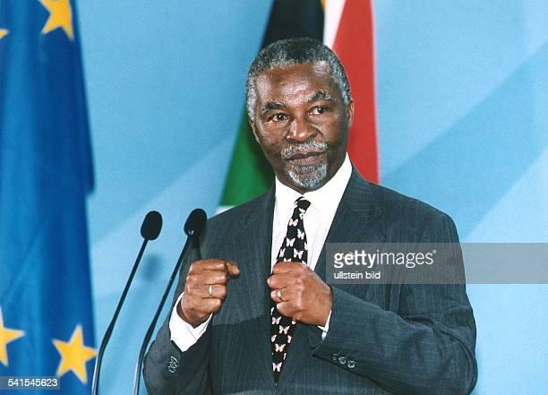 Politiker, Südafrika, ANC Staatspräsident der Republik SüdafrikaPorträt während seines Staatsbesuches in Berlin
