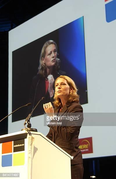 Kommunikationswissenschaftlerin DStaatssekretärin Regierungssprecherin von NordrheinWestfalenRede auf dem Medienforum in Köln
