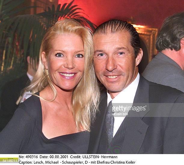 Schauspieler Dmit Ehefrau Christina Keiler 2001