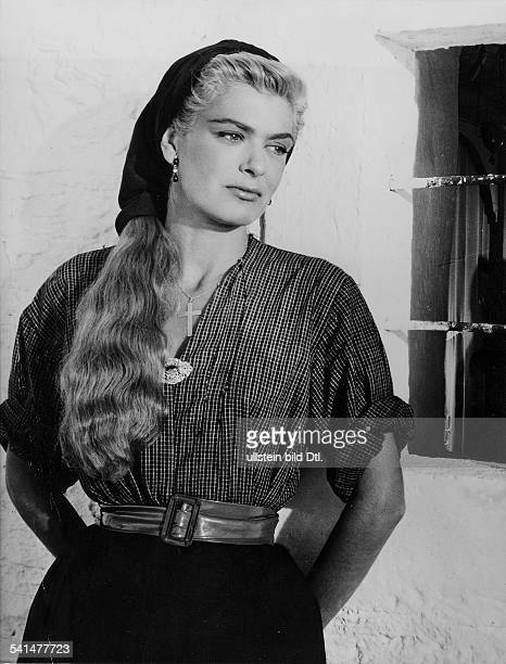 """Schauspielerin, Politikerin; GriechenlandPorträt aus dem Film """"Der Mann, der sterben muß""""Regie: Jules DassinFrankreich, Italien 1956"""