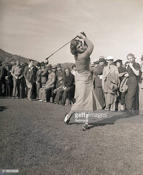 1/8/1938Los Angeles CA With $5000 in prizes luring them on 290 golfers in the thirteenth annual Los Angeles Open Golf Tournament starting Jan 7 Photo...