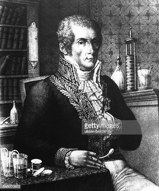 1745 1827Physiker IBegründer der ElektrizitätstheoriePorträt