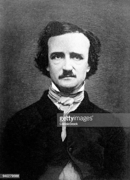1840s PORTRAIT EDGAR ALLAN POE 18091849 MACABRE GOTHIC POET WRITER AUTHOR CRITIC