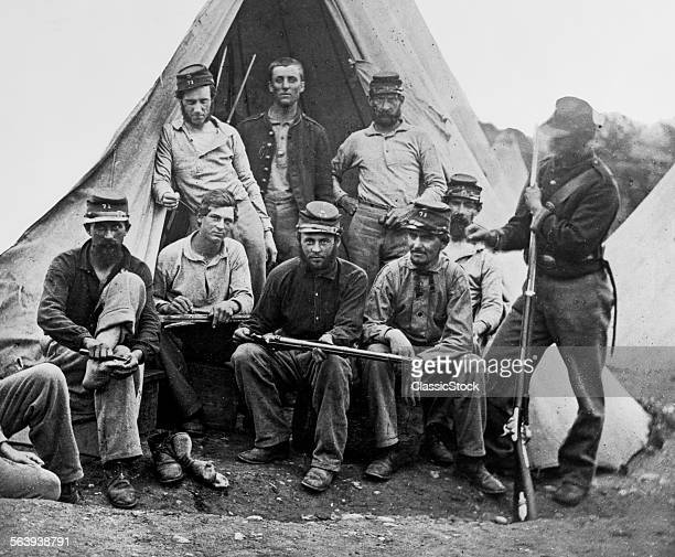 1860s GROUP OF NINE UNION...