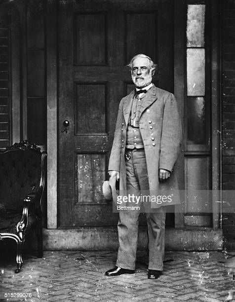 1865Robert E Lee in his new uniform shortly before he met Grant at Appomattox