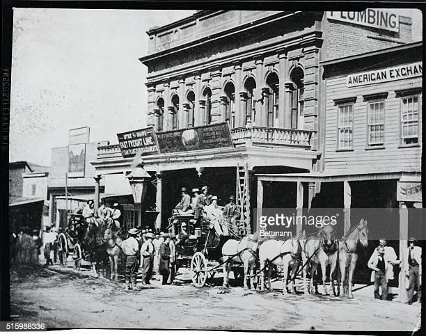 1866Virginia City NV Wells Fargo Co Express office