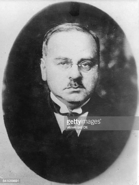 *18701937Wissenschaftler Psychologe ÖsterreichPorträt undatiert