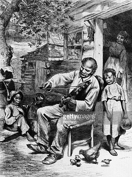 1872Negro Songs of the Old South 1872 Illustration by WL Sheppard