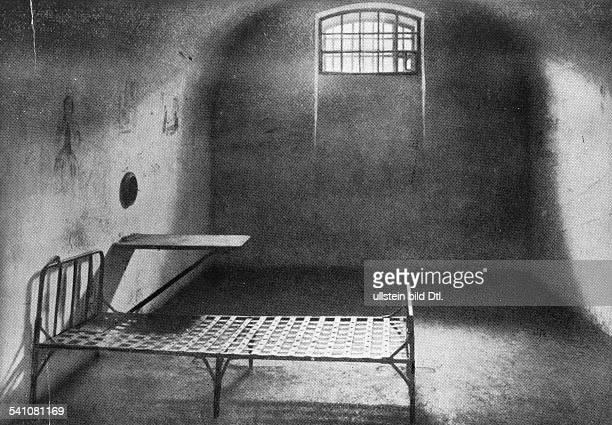 1876russischer AnarchistBakunins Gefängniszelle in der FestungPeter-und-Paul in Petersburg- undatiert