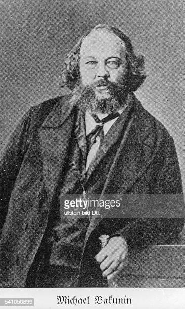 1876Sozialphilosoph, Anarchist, Russland- undatiert