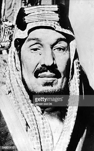 *18801953König von Saudi Arabien Porträtum 1952