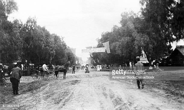 1890s 1900s OLIVE STREET...