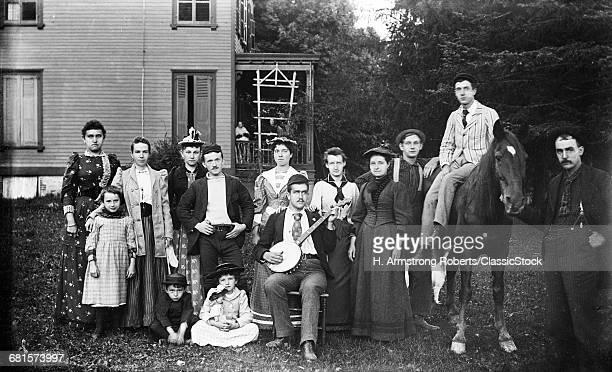 1890s GROUP PORTRAIT...