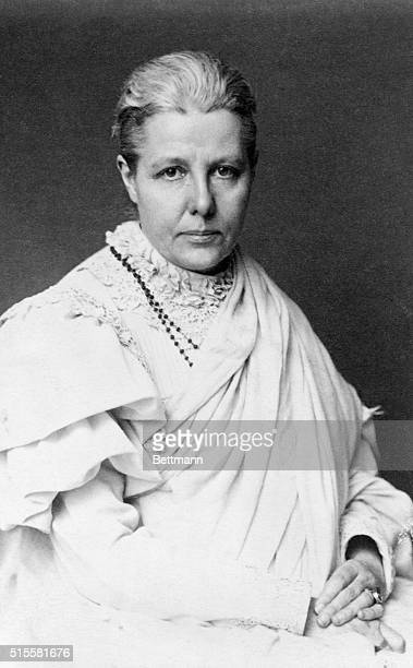 1897Annie Besant English theosophist Leader of Indian National Congress and Home rule League Photograph 1897
