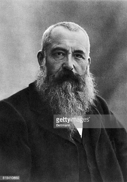 1898Portrait of Claude Monet French Impressionist painter Photographer by Nadar