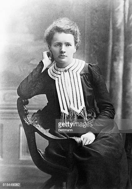 1898Portrait of Madame Marie Curie Nobelprize winning Polish chemist who researched radioactivity