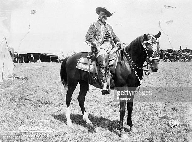 1899Bufffalo Bill Cody on Horseback