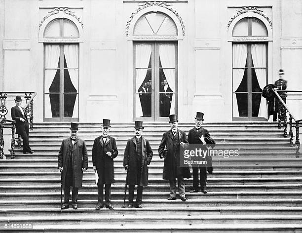 Hague, Holland- The first peace conference at the Hague proposed by Russia to effect a reduction in armament, it did not succeed in its announced...