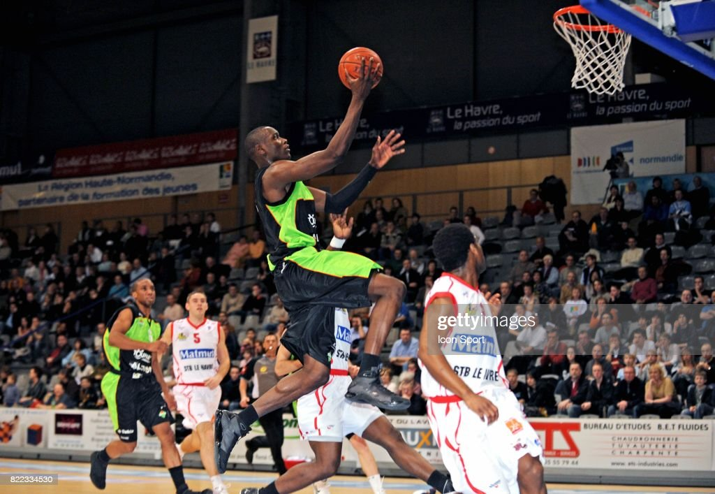 Baskeball le havre asvel pictures getty images
