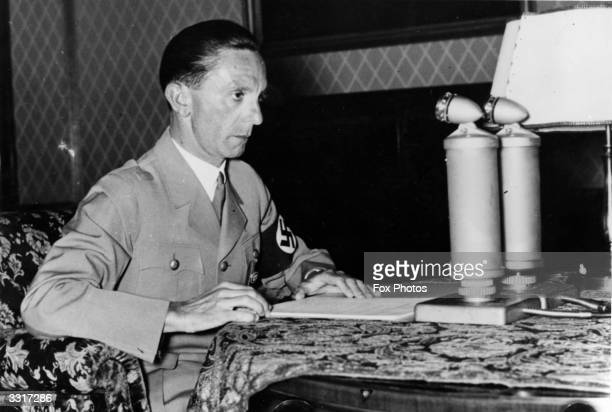 German Nazi politician Joseph Goebbels